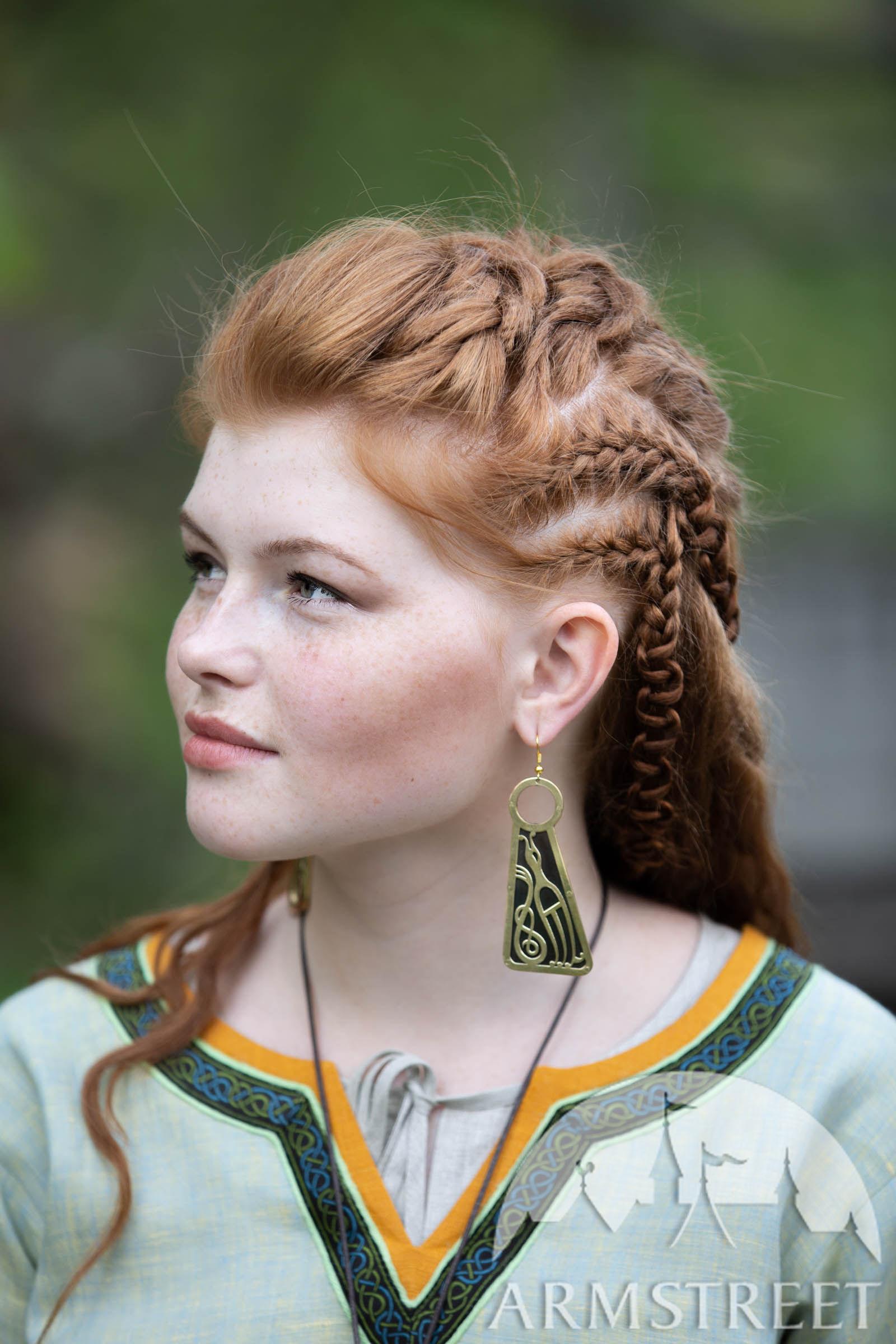 boucle d'oreille femme viking