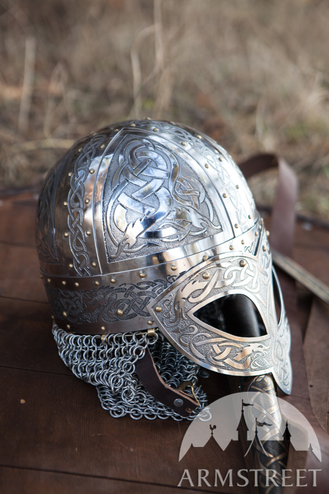 casque valsg rde exclusif de viking en acier inoxydable vendre disponible en acier. Black Bedroom Furniture Sets. Home Design Ideas