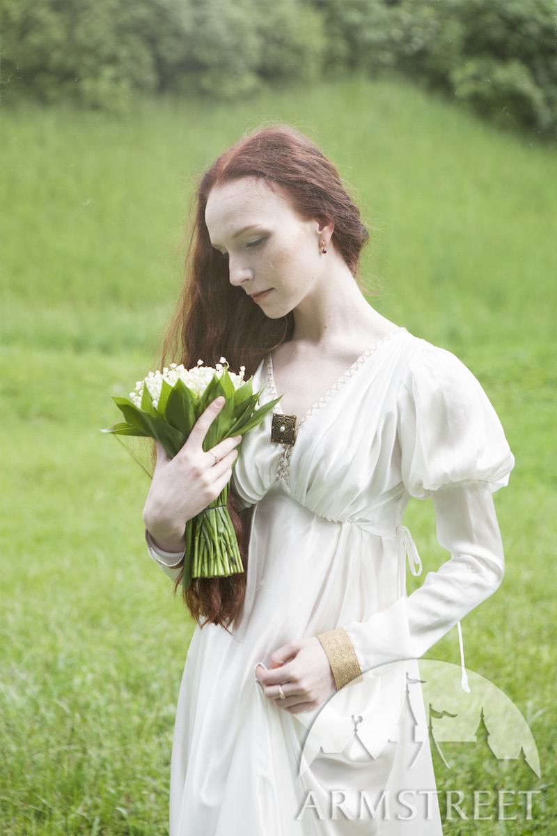 La robe de soie blanche texte