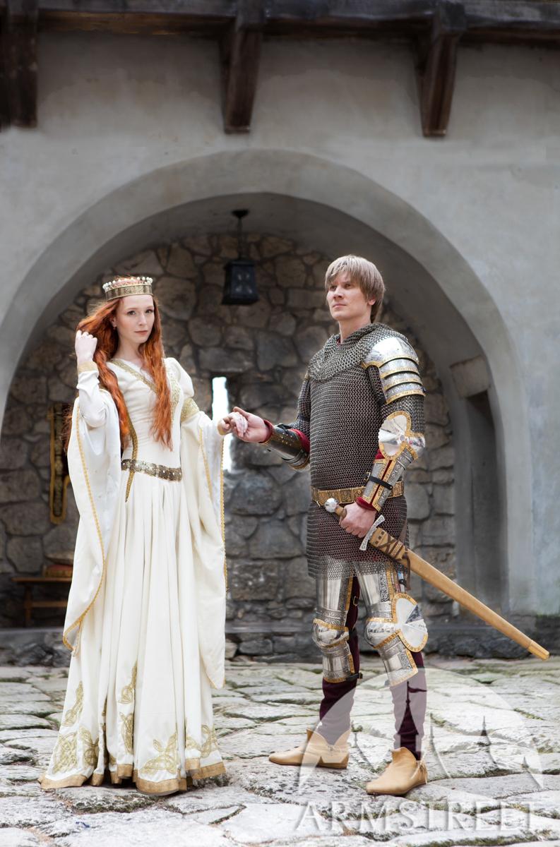 Robe Blanche 171 L Adoubement 187 Mariage M 233 Di 233 Val Disponible