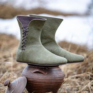 Bottes en Cuir d'Inspiration Celte «Leprechaun» pour vente