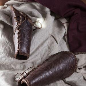 Brassards en cuir Gaufrés